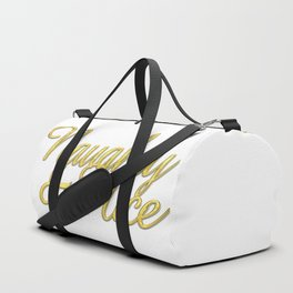 Exclusive*** Naughty & Nice Duffle Bag