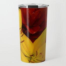 """A Gathering of Lilies"" - 2 [D4466~24] Travel Mug"