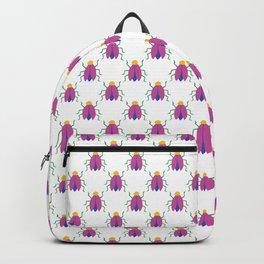 AB039-9 Cute Bugs Pattern Backpack
