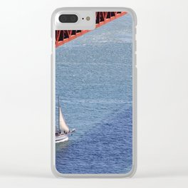 Entering the Gate Clear iPhone Case
