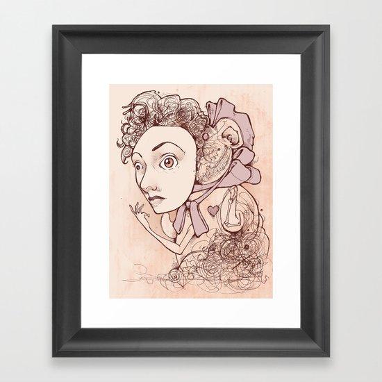 Unnaturally Adorable Framed Art Print