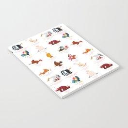 Chicken Yoga Notebook