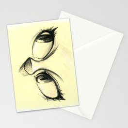 peek a boo Stationery Cards