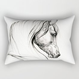 Arabian horse Rectangular Pillow