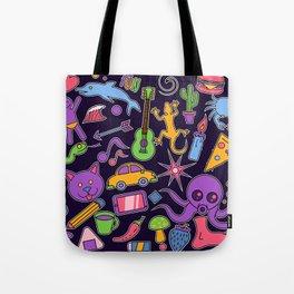 Fun doodles Tote Bag