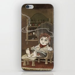 A Merrier World iPhone Skin