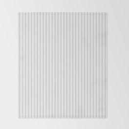 Grey Harbour Mist Mattress Ticking 2018 London Fashion Color Throw Blanket