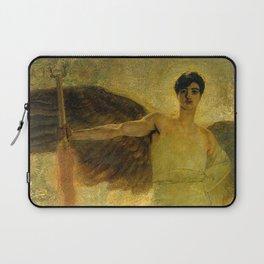 Handsome Golden Angel Laptop Sleeve