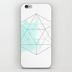 Platonic Water iPhone & iPod Skin