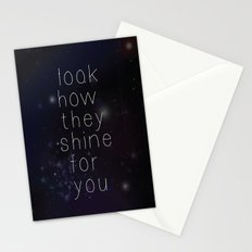 Look how they shine Stationery Cards