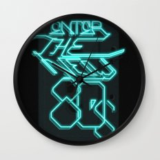 Enter the new 80s Wall Clock