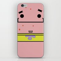patrick iPhone & iPod Skins featuring Patrick by nu boniglio