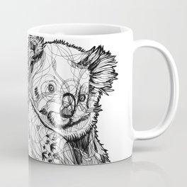 Abstract koala line drawing / black and white Coffee Mug
