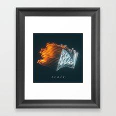 170205 / scale Framed Art Print