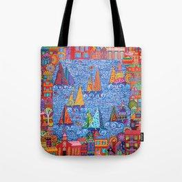 Regatta Town Tote Bag