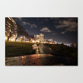 English Bay Long Exposure Canvas Print