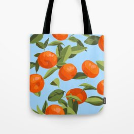 Good Luck Mandarin Oranges Tote Bag