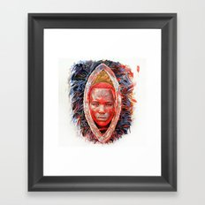 MAASAI Framed Art Print