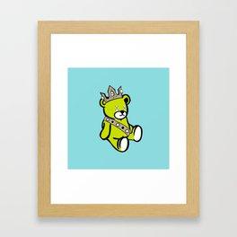 Bear King Framed Art Print