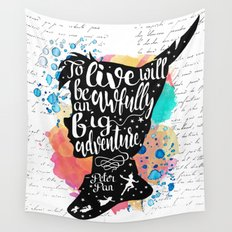 Peter Pan - To Live Wall Tapestry