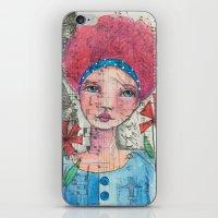 zelda iPhone & iPod Skins featuring Zelda by Judy Skowron