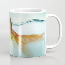 Goldfish Castle Coffee Mug