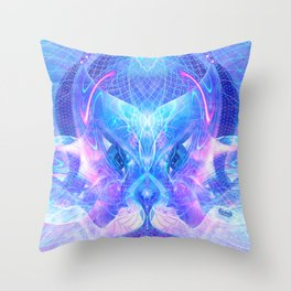 Arcturian Integration Throw Pillow