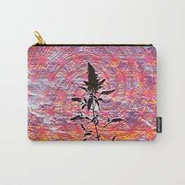 Leaf shadow at sunset Carry-All Pouch