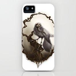 Corvus Cervus Lepus Series - Corax iPhone Case