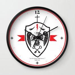 Destroy Death Wall Clock