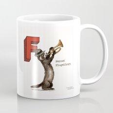 Animals & Instruments ABCs – F Coffee Mug