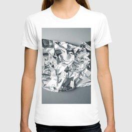 Gray foil T-shirt