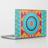 art deco Laptop & iPad Skins featuring Deco Art by MadTee