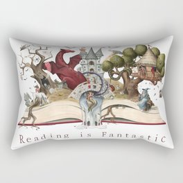 Reading is Fantastic Rectangular Pillow