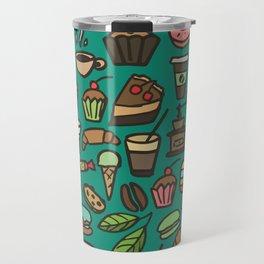 Coffee and pastry  Travel Mug