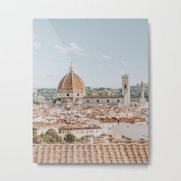 Piazzale Michelangelo / Florence, Italy Metal Print