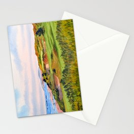 Pacific Dunes Golf Course Oregon WA Hole 11 Stationery Cards