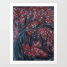 Holding Autumn Art Print