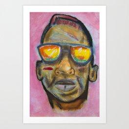 Cool Boy 1ne Art Print