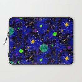 Wrinkle Planet Pattern Laptop Sleeve