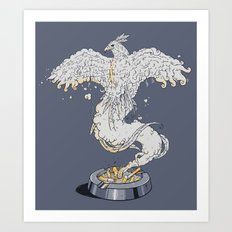 From the ashes Art Print