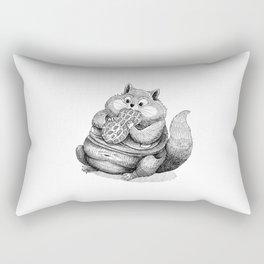 Fat Hamster Rectangular Pillow