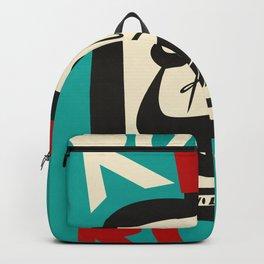 The Ocean Rum Whale  Backpack