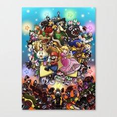 Legend of Seven Stars! Canvas Print