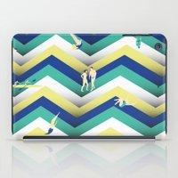 swim iPad Cases featuring Swim by Salomé Milet
