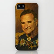 Robin Williams - replaceface iPhone (5, 5s) Slim Case