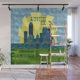 I love Austin, TX Wall Mural