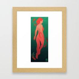 without  hostility Framed Art Print