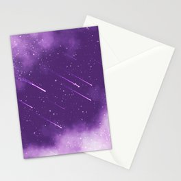 Meteors Stationery Cards
