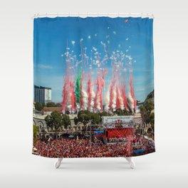 Gibraltar National Day September 10th 2015 Shower Curtain